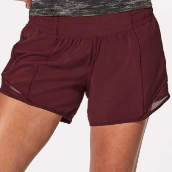 0cae795e758 lululemon athletica Shorts | Nwt Plum Lululemon Hotty Hot Short Ii ...